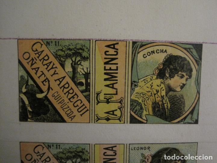 Streichholzschachteln: CAJAS DE CERILLAS PEGADAS A HOJA-ESPAÑA-GARAY Y ARREGUI-OÑATE-VER FOTOS-(CARPB-63) - Foto 3 - 155670226