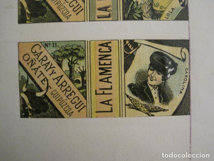 Streichholzschachteln: CAJAS DE CERILLAS PEGADAS A HOJA-ESPAÑA-GARAY Y ARREGUI-OÑATE-VER FOTOS-(CARPB-63) - Foto 7 - 155670226