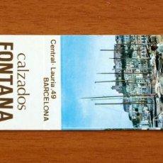 Cajas de Cerillas: CALZADOS FONTANA, BARCELONA, IBIZA, SAN ANTONIO, CALELLA - CARTERÍTA DE CERILLAS -GENERAL FOSFORERA . Lote 156181986