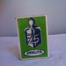 Cajas de Cerillas: URALITA. 75 AÑOS. CAJA DE CERILLAS. Lote 156243312