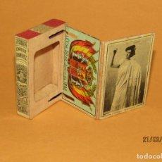 Cajas de Cerillas: ANTIGÜA CAJA CERILLAS SIGLO XIX. ENRIQUE RAMÍREZ SEVILLA GREMIO DE FABRICANTES DE FOSFOROS DE ESPAÑA. Lote 156275442
