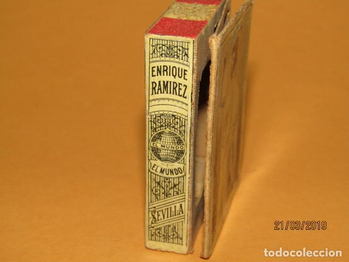 Cajas de Cerillas: Antigüa Caja Cerillas Siglo XIX. ENRIQUE RAMÍREZ Sevilla Gremio de Fabricantes de Fosforos de España - Foto 2 - 156275442