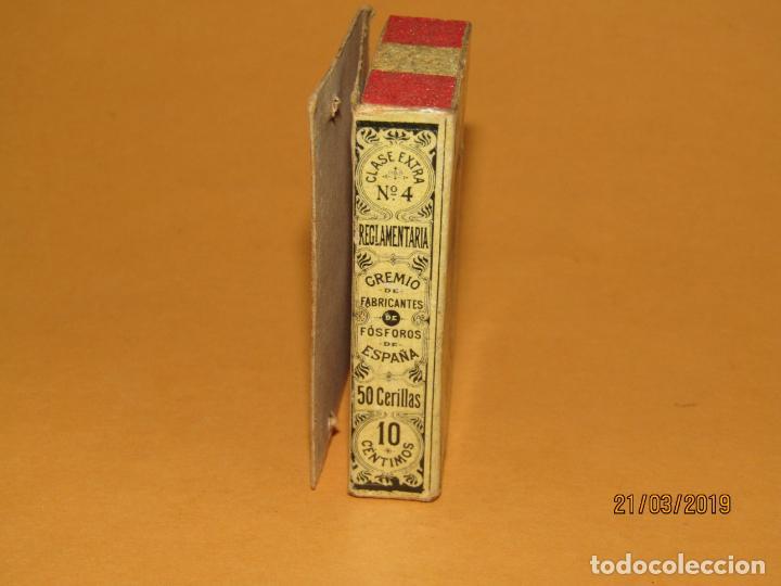 Cajas de Cerillas: Antigüa Caja Cerillas Siglo XIX. ENRIQUE RAMÍREZ Sevilla Gremio de Fabricantes de Fosforos de España - Foto 6 - 156275442