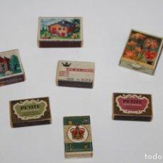 Cajas de Cerillas: ANTIGUAS CAJAS DE CERILLAS . Lote 156591498