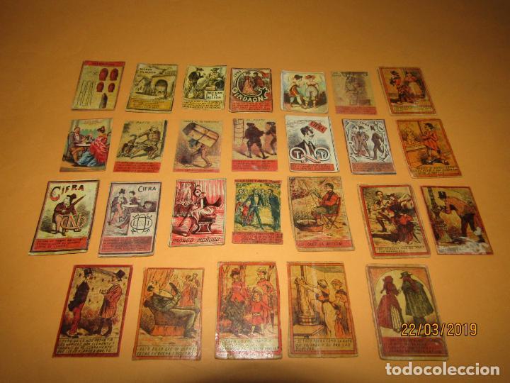 ANTIGUO LOTE CAJAS DE CERILLAS TODAS DIFERENTES - SIGLO XIX - AÑO 1890-1910S. (Coleccionismo - Objetos para Fumar - Cajas de Cerillas)