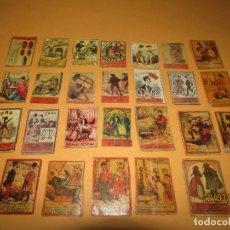 Cajas de Cerillas: ANTIGUO LOTE CAJAS DE CERILLAS TODAS DIFERENTES - SIGLO XIX - AÑO 1890-1910S.. Lote 156709774