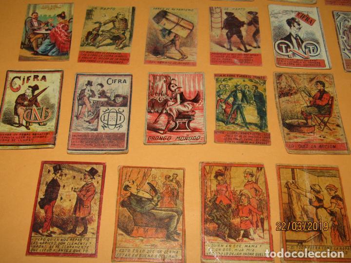 Cajas de Cerillas: Antiguo Lote Cajas de Cerillas Todas Diferentes - Siglo XIX - Año 1890-1910s. - Foto 3 - 156709774