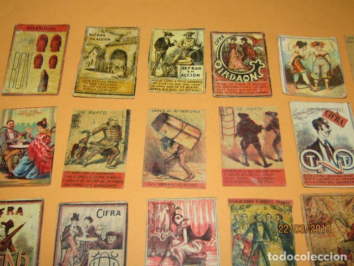 Cajas de Cerillas: Antiguo Lote Cajas de Cerillas Todas Diferentes - Siglo XIX - Año 1890-1910s. - Foto 4 - 156709774