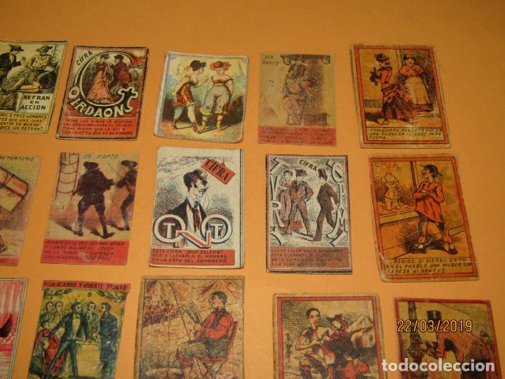Cajas de Cerillas: Antiguo Lote Cajas de Cerillas Todas Diferentes - Siglo XIX - Año 1890-1910s. - Foto 5 - 156709774