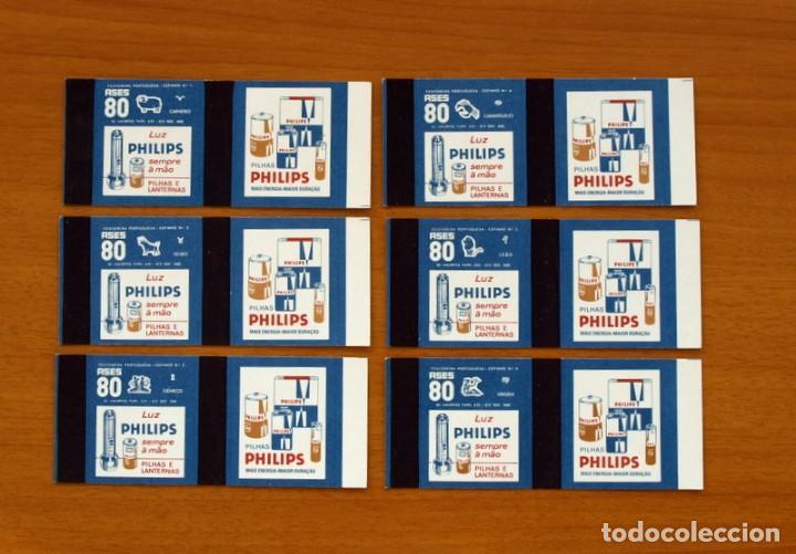 Cajas de Cerillas: Horóscopos Philips - Colección completa, 12 Cajas de cerillas de Portugal-Portuguesas - Foto 3 - 156800470
