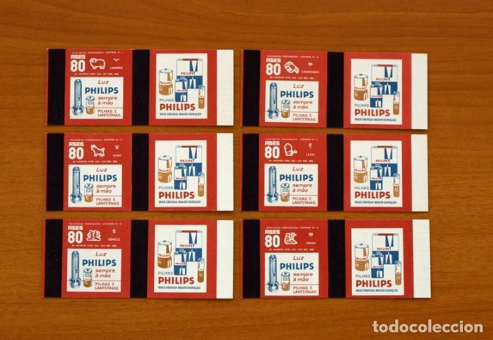 Cajas de Cerillas: Horóscopos Philips - Colección completa, 12 Cajas de cerillas de Portugal-Portuguesas - Foto 3 - 156800486