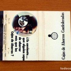 Cajas de Cerillas - Cajas de Ahorros Confederadas - Carteríta de cerillas - General Fosforeras - 156817726