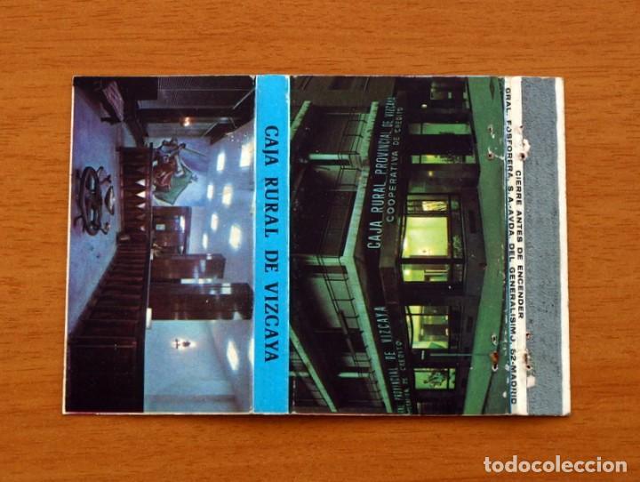 CAJA RURAL DE VIZCAYA - CARTERÍTA DE CERILLAS - GENERAL FOSFORERAS (Coleccionismo - Objetos para Fumar - Cajas de Cerillas)