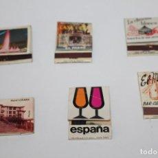 Cajas de Cerillas: ANTIGUAS CAJAS DE CERILLAS VACIAS - PEDIDO MINIMO 5€. Lote 156818218