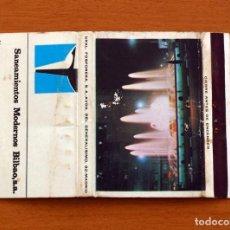 Cajas de Cerillas - Saneamientos Modernos Bilbao S.A. - Carteríta de cerillas - General Fosforeras - 156821838