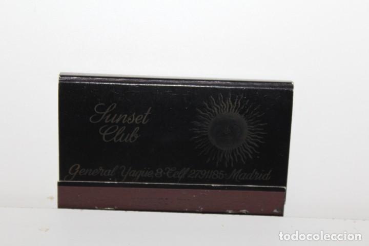 ANTIGUA CAJA DE CERILLAS CLUB SUNSET - PEDIDO MINIMO 5€ (Coleccionismo - Objetos para Fumar - Cajas de Cerillas)