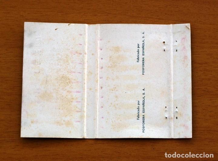 Cajas de Cerillas: Clavaris Dels Sants de la Pedra, Beniferri, Setembre 1977 -Carteríta de cerillas -General Fosforeras - Foto 2 - 156823534