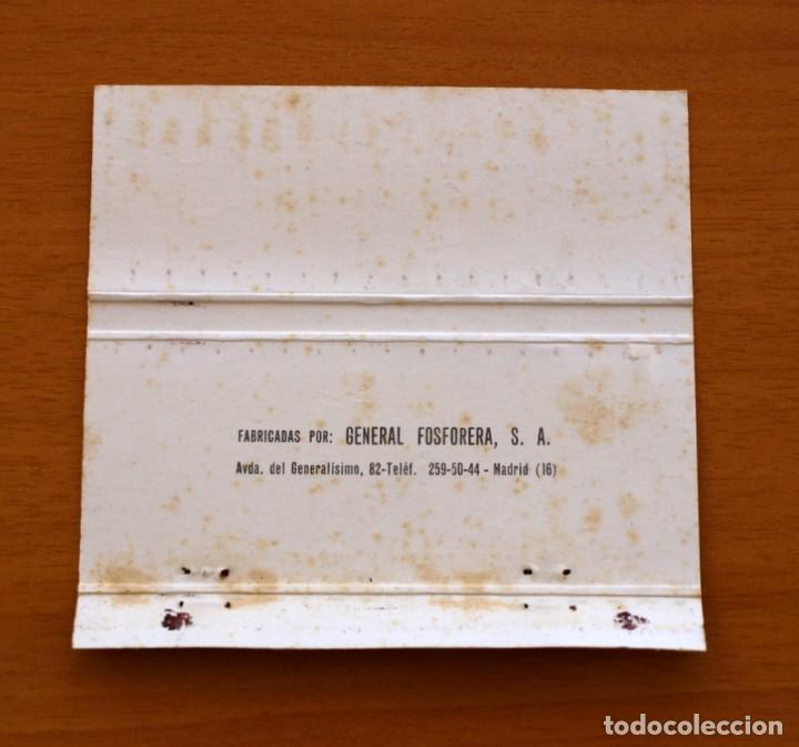 Cajas de Cerillas: Boda, enlace de Payá y Anglada, Dirección de Hogar-Complet -Carteríta de cerillas-General Fosforeras - Foto 2 - 156825514