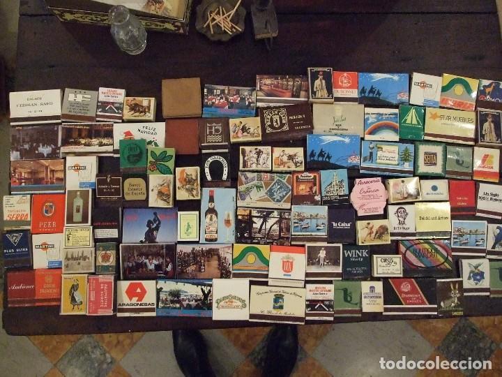 COLECCION DE 93 CAJAS DE CERILLAS LLENAS AÑOS 50 60 Y 70 - MUY BUEN ESTADO MALLORCA (Coleccionismo - Objetos para Fumar - Cajas de Cerillas)