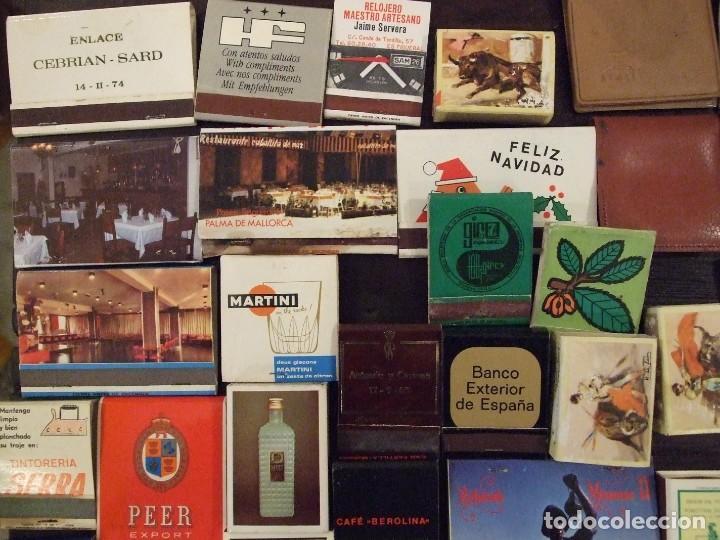 Cajas de Cerillas: COLECCION DE 93 CAJAS DE CERILLAS LLENAS AÑOS 50 60 Y 70 - MUY BUEN ESTADO MALLORCA - Foto 4 - 157444702