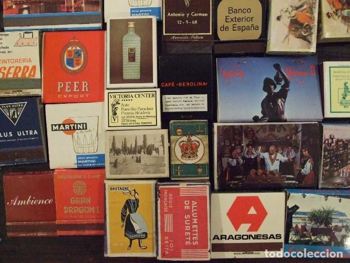 Cajas de Cerillas: COLECCION DE 93 CAJAS DE CERILLAS LLENAS AÑOS 50 60 Y 70 - MUY BUEN ESTADO MALLORCA - Foto 5 - 157444702
