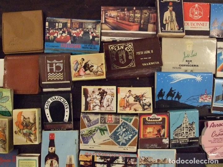 Cajas de Cerillas: COLECCION DE 93 CAJAS DE CERILLAS LLENAS AÑOS 50 60 Y 70 - MUY BUEN ESTADO MALLORCA - Foto 6 - 157444702