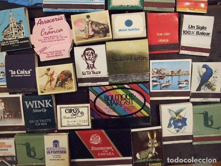 Cajas de Cerillas: COLECCION DE 93 CAJAS DE CERILLAS LLENAS AÑOS 50 60 Y 70 - MUY BUEN ESTADO MALLORCA - Foto 9 - 157444702