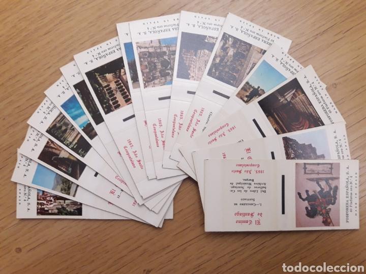 COLECCION CAJAS CERILLAS - CAMINO DE SANTIAGO (Coleccionismo - Objetos para Fumar - Cajas de Cerillas)