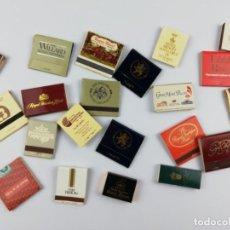 Cajas de Cerillas: CAJAS DE CERILLAS HOTELES. Lote 157843286