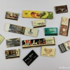 Cajas de Cerillas: CAJAS DE CERILLAS BARES RESTAURANTES DISCOTECAS. Lote 157843758