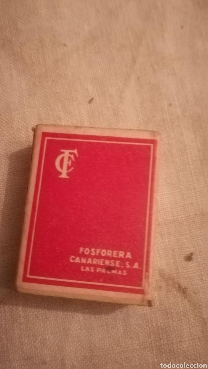 Cajas de Cerillas: Antigua caja de cerillas, Fosforera Canariense - Foto 2 - 158338014