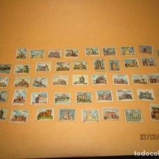 Cajas de Cerillas: ANTIGUO LOTE DE 45 CAJAS DE CERILLAS CASTILLOS DE ESPAÑA . Lote 158418758