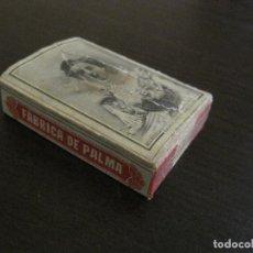 Cajas de Cerillas: CAJA DE CERILLAS-FABRICA DE PALMA-HACIENDA PUBLICA-ANTIGUA-VER FOTOS-(V-16.277). Lote 158747254