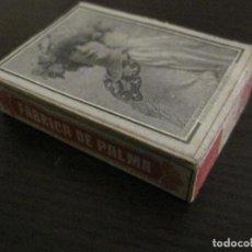 Cajas de Cerillas: CAJA DE CERILLAS-FABRICA DE PALMA-HACIENDA PUBLICA-ANTIGUA-VER FOTOS-(V-16.279). Lote 158747406