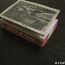 Cajas de Cerillas: CAJA DE CERILLAS-FABRICA DE PALMA-HACIENDA PUBLICA-ANTIGUA-VER FOTOS-(V-16.280). Lote 158747550
