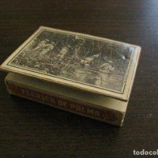 Cajas de Cerillas: CAJA DE CERILLAS-FABRICA DE PALMA-HACIENDA PUBLICA-ANTIGUA-VER FOTOS-(V-16.283). Lote 158747738
