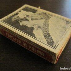 Cajas de Cerillas: CAJA DE CERILLAS-FABRICA DE PALMA-HACIENDA PUBLICA-ANTIGUA-VER FOTOS-(V-16.284). Lote 158747798