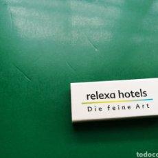 Cajas de Cerillas: ANTIGUA CAJA DE CERILLAS. RELEXA HOTELES. Lote 158797744