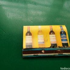 Cajas de Cerillas: ANTIGUA CAJA DE CERILLAS. VINO LOS CORALES. Lote 158797857