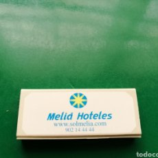 Cajas de Cerillas: ANTIGUA CAJA DE CERILLAS MELIÁ HOTELES. Lote 158820942