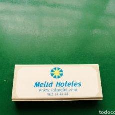 Cajas de Cerillas: ANTIGUA CAJA DE CERILLAS MELIÁ HOTELES. Lote 158821017