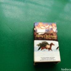 Cajas de Cerillas: ANTIGUA CAJA DE CERILLAS MARLBORO COUNTY MERRY CHRISTMAS. Lote 158822672