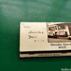 Cajas de Cerillas: ANTIGUA CAJA DE CERILLAS BODA ASCENSIÓN Y BENITO. 1973. AVILÉS ( ASTURIAS). Lote 158822950