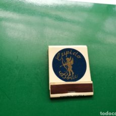 Cajas de Cerillas: ANTIGUA CAJA DE CERILLAS PUB CUPIDO BOITE . GIJÓN ( ASTURIAS). Lote 158824074