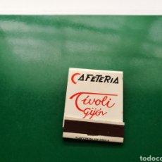Cajas de Cerillas: ANTIGUA CAJA DE CERILLAS CAFETERÍA PUB TIVOLI . GIJÓN ( ASTURIAS). Lote 158824149