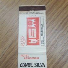 Cajas de Cerillas: CARTERITA CERILLAS - HOTEL RESIDENCIA CONDE SILVA - PONFERRADA (LEON). Lote 159217198