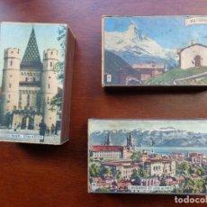Cajas de Cerillas: 3 ANTIGUAS CAJAS DE CERILLAS GRANDES - SUIZA - VACÍAS. Lote 159658482