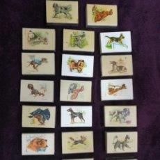 Cajas de Cerillas: LOTE 23 CAJAS CERILLAS VACIAS PERROS DE FOSFORERA ESPAÑOLA. Lote 160295922