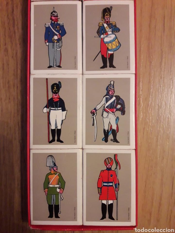 Cajas de Cerillas: ESTUCHE COMPLETO 16 CAJAS CERILLAS - SOLDADOS - Foto 3 - 160366845