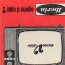 Cajas de Cerillas: CAJA DE CERILLAS ICONOS DE FAMOSOS PRODUCTOS ANUNCIADOS AÑOS 50/60 IBERIA RADIO Y TV. Lote 160589854